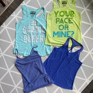 Lot of workout tank tops